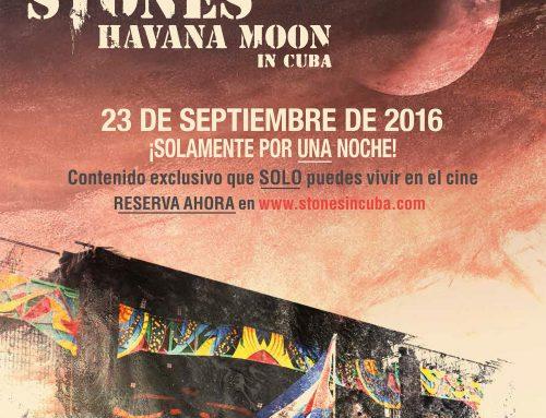 ROLLING STONES EN CUBA. HABANA MOON